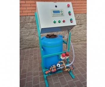 Бетоносмеситель БСМ 500 (с тензо-влаго системами и авт. подачей воды и пластификаторами )