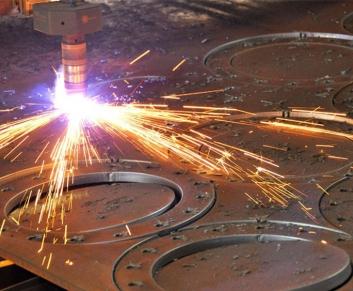Раскрой листа металла на станках ЧПУ