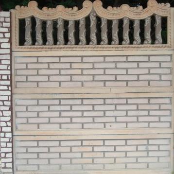Евро бетонный забор 12